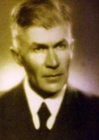 Otec pamětnice, prof. Machovec (fotografie vznikla krátce před jeho popravou nacisty)