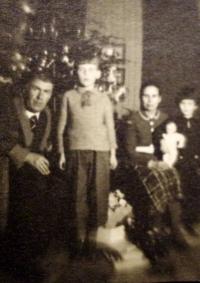 Poslední společné Vánoce v roce 1941