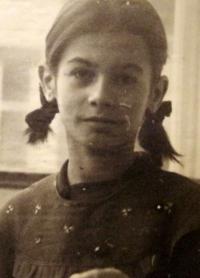 Radka Křivánková v roce 1943
