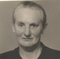 A grandmother Anna Matysová