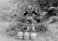 A barrel in Zábřeh - Skalička
