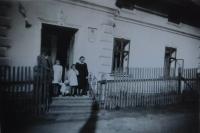 The Lasermann House in Hynčice nad Moravou, where the witness served