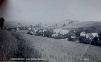Hynčice nad Moravou before the Second World War