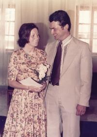 1977, 2nd wedding