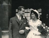 1960, first wedding