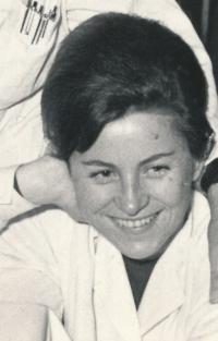 Jana Kulhánková retro foto