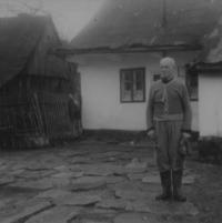 Father Josef Matys in Hynčice nad Moravou