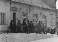 Police intervention at a music festival on July 10, 1982 in Moravský Písek