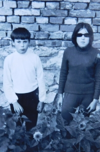 Siblings Stanislav and Věra Stojaspal