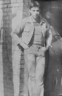 Stanislav Stojaspal during military service