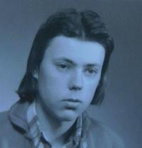 Stanislav Stojaspal in his youth
