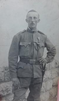 Uncle Richard Filip from Hynčice nad Moravou
