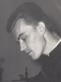 Pamětník František Kunetka na dobové fotografii, 1969-1974
