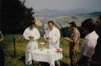 Na salesiánských chaloupkách ve Vidči u Rožnova