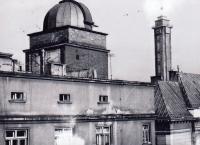 The former public observatory on Českobratrská Street in the center of Ostrava
