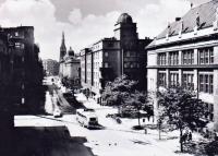 Picture of the former observatory on Českobratrská Street in Ostrava