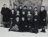 In Vichorevka in 1955