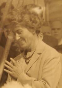 Libuše Hrdinová in 1968