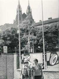 Brno in 1976
