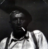 Jiří Langer / putování 1957 / hospodář Tomáš Šroba / Zuberec