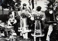Jiří Langer / putování 1957 / obyvatelé Ždiaru pod Vysokými Tatrami / Slovensko