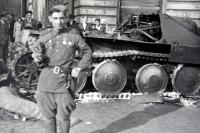 Jiří Langer / end of war / Soviet soldier in Klárov / Prague/ May1945