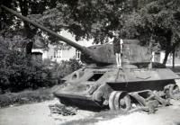 Jiří Langer / konec války ve Slatině / Brno / léto 1945