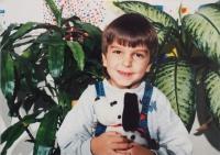 Grandson of Mrs. Fabiánová