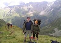Petr a Věra Náhlíkovi v Alpách (r. 2013)