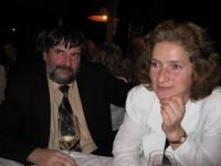Oslava 17. listopadu – Petr a Věra Náhlíkovi na Večírku padlých revolucionářů ve Staré sladovně v Malé ulici (r. 2007)