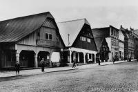 Ukázka z cyklu Letem českým světem: Lomnice nad Popelkou, 1910