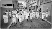 Akce s názvem S Vámi pořádaná jako připomínka obětí okupace v srpnu 1968, Boskovice, 2018