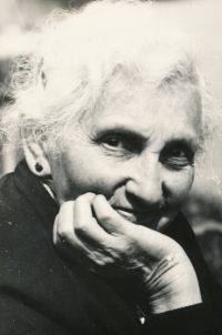 Augusta Weissová, a great-aunt of the witness in 1960s