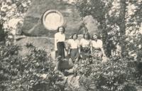 Totally deployed Pols in Altenburg in 1944