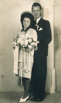 Wedding in 1946
