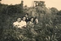 Altenburg in 1943 - Zofia second left