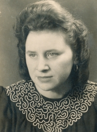 Zofia in 1950s