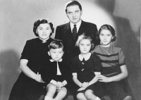 """Family of the Fabián family friend who warned witness' father before impeding arrest. They lodged in their Brno house Miroslav, witness' older brother, so that he could study the technical high school, which would not be possible in his home region of Northern Bohemia because of his family background and the """"black spot"""" in his dossier."""
