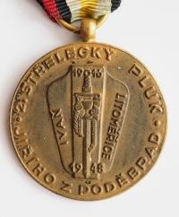 Memorial medal  of the 2nd rifle regiment of Jiří of Poděbrady