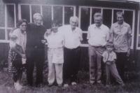 Setkání na Waldenu v Novém Hrozenkově: Juraj, Atahualpa, Šaman s rodinami (r. 1987)