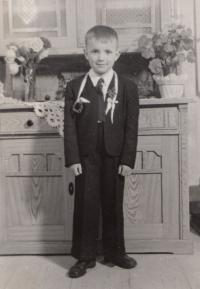 Gustav as a small boy