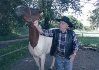 Gustav with his horse