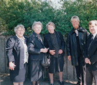 German friends at the funeral (year 1999)
