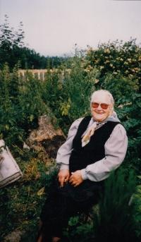 Julie Wanka, wife of Josef Wanka