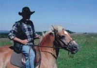 Gustav on a horse