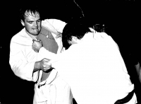 Picture from a judo practise