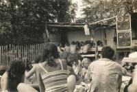 The Antirockfest  took place in Oskava in 1986