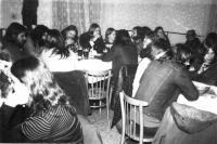 In the Čtverka pub. Uničov 1986