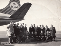 The manager Ukrajinčík provided Dukla with numerous tours around the world, but they always flew with KML, the 1960s