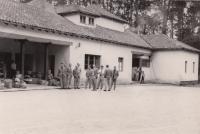 Viňa del Mar, Chile, CSL national team hostel, 1962